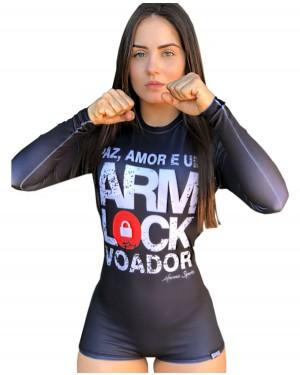 BODY FEMININO ARM LOCK VOADOR