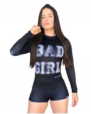 BODY FEMININO BAD GIRL BLACK