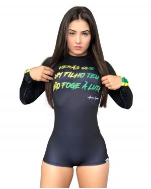 BODY FEMININO PÁTRIA AMADA