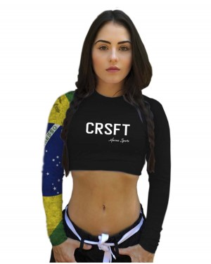 CROPPED CRSFT BRASIL FEMININO