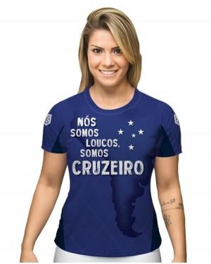 CAMISA DRY FIT FEMININO CRUZEIRO