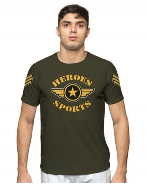 CAMISA DRY FIT MASCULINO MILITARY