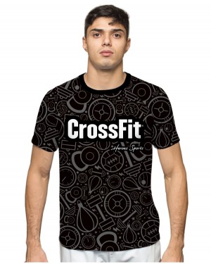 CAMISA DRY FIT MASCULINO CROSSFIT
