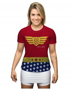 CAMISA DRY FIT FEMININO WONDER STAR