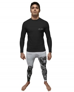 LEGGING BLACK DRAGON MASCULINO
