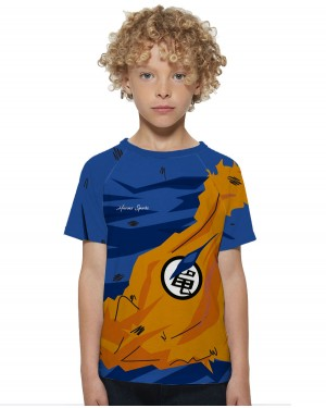 CAMISA DRY FIT INFANTIL GOKU DESTROYED
