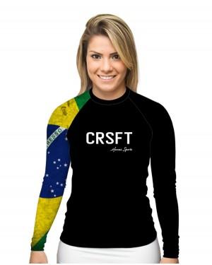 RASHGUARD FEMININO CRSFT BRASIL