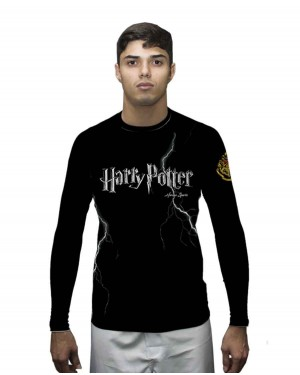 RASHGUARD MASCULINO HARRY POTTER