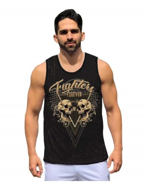 REGATA DRY FIT MASCULINO FIGHTER FOREVER
