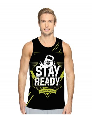 REGATA DRY FIT MASCULINO STAY READY