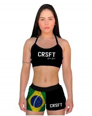 SHORT CROSS CRSFT BRASIL FEMININO