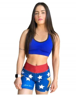 SHORT FITNESS WONDER STAR FEMININO