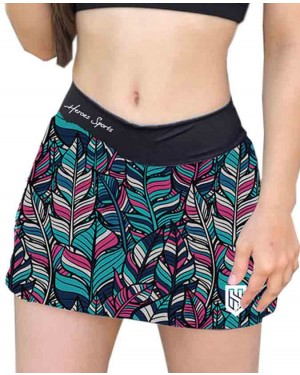 SHORT SAIA PEACE AND LOVE FEMININO