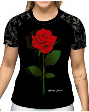 CAMISA DRY FIT ROSES FIGHT FEMININO