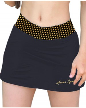 SHORT SAIA GOLDEN STAR FEMININO
