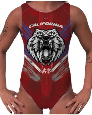BODY CLASSIC CALIFORNIA BEAR FEMININO
