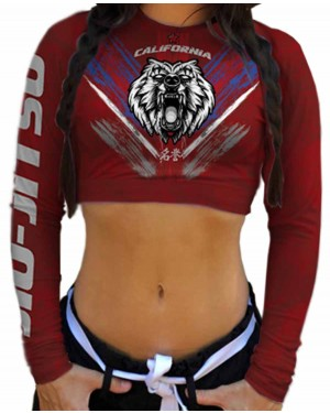 CROPPED CALIFORNIA BEAR FEMININO