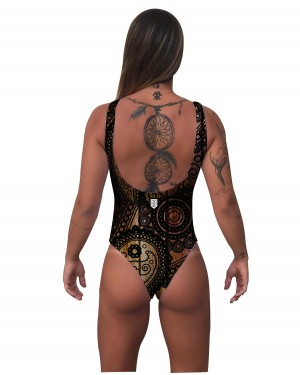 BODY CLASSIC INDIAN DESIGN FEMININO