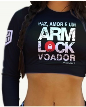CROPPED ARM LOCK VOADOR FEMININO
