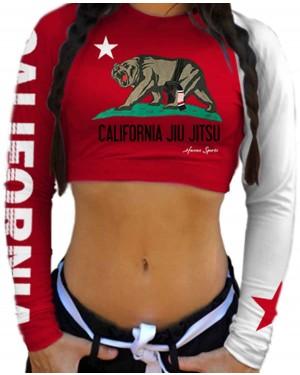 CROPPED CALIFORNIA JIU JITSU FEMININO