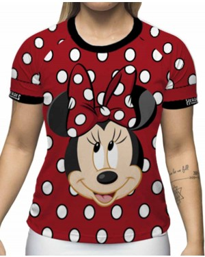 CAMISA DRY FIT INFANTIL MINNIE