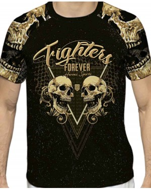 CAMISA DRY FIT MASCULINO FIGHTER FOREVER