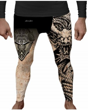 LEGGING DOUBLE DRAGON MASCULINO