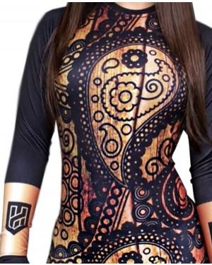 RASHGUARD FEMININO INDIAN DESIGN