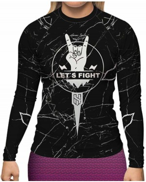 RASHGUARD FEMININO LET'S FIGHT