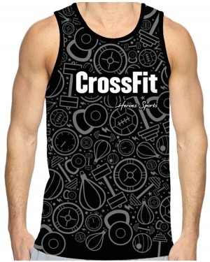 REGATA DRY FIT MASCULINO CROSSFIT