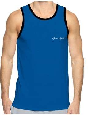 REGATA DRY FIT MASCULINO HEROES BLUE