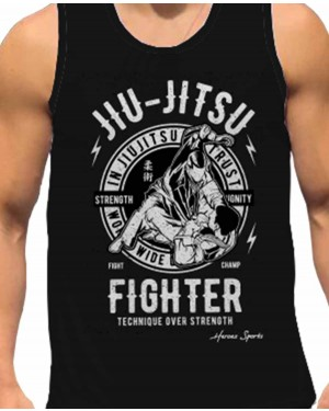 REGATA DRY FIT MASCULINO JIU-JITSU FIGHTER