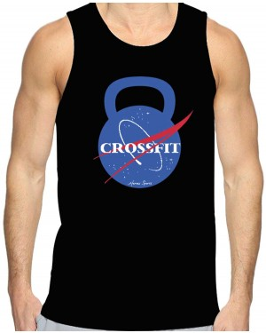 REGATA DRY FIT MASCULINO NASA CROSSFIT