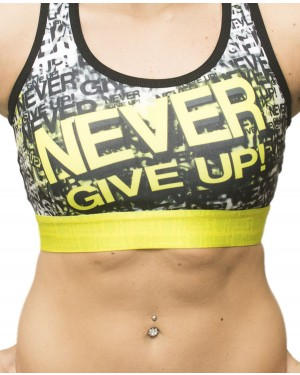 TOP FITNESS NEVER GIVE UP FEMININO